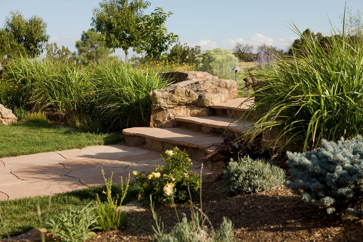 Stone step detail