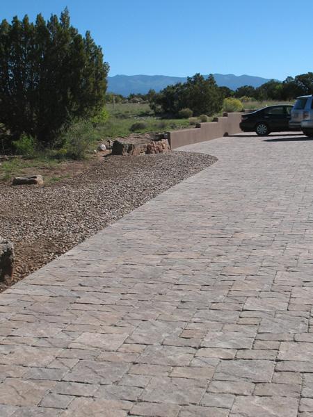 Pavestone driveway