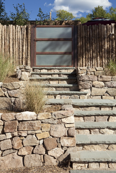 Rectangular Bluestone steps
